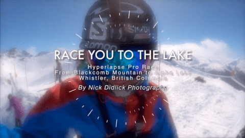 Race You To The Lake